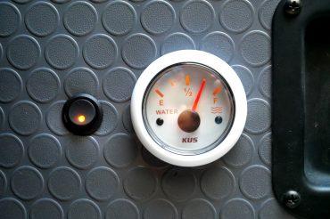 Fresh Water Tank Level Sensor and Gauge Install