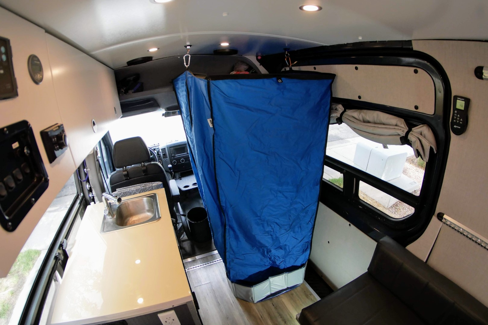 Sprinter Van Indoor Shower 2.0- Portable and Easy