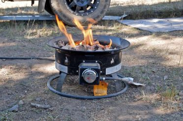 Propane Firebowl: We May Never Go Back to Using Firewood!