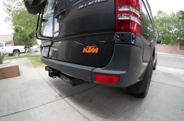 Sprinter Step Bumper Removal & Hitch Install with Trailer Wiring