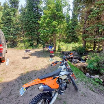 Solo Camping in the Motovan at a Stellar Camp Spot!